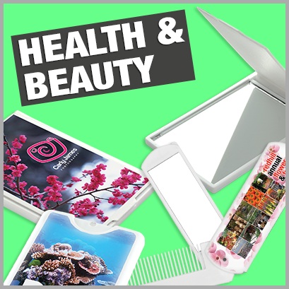 Health & Beauty personalised with print